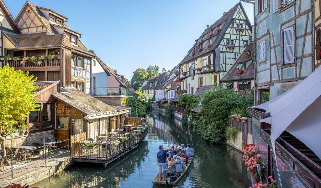 Colmar une des belles villes d'Alsace