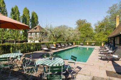 Hôtel Illwald Sélestat piscine